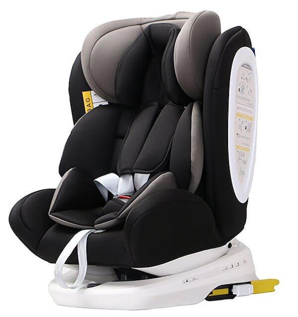 Une chaise de voiture adaptable pour tous les groupes, à un prix imbattable