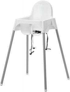 IKEA ANTILOP - Chaise Haute Avec Ceinture de Sécurité - 90 cm