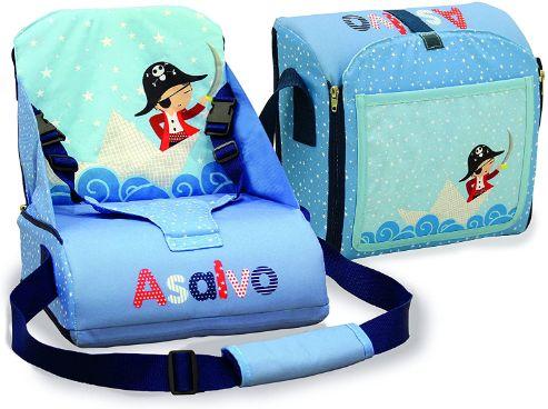 Asalvo Go Anywhere Booster Siege Pirate Bleu