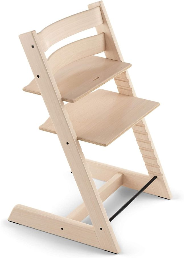 chaise haute stokke steps – Chaise haute avec dossier pour bébé ergonomique et évolutive