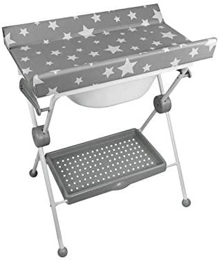 Table à langer et baignoire bebe