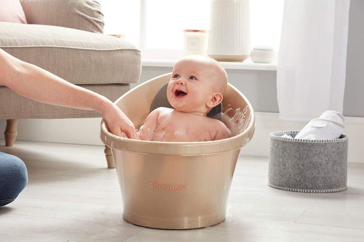 Seau de bain pour bébé