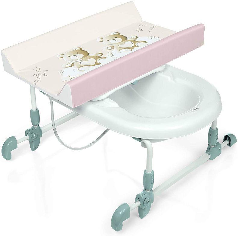 Table à langer adaptable sur baignoire
