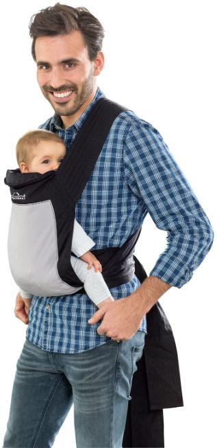porte bebe physiologique - echarpe de portage amazonas -